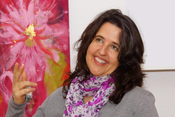 Mirjam Amann-Hauffe im Gespräch